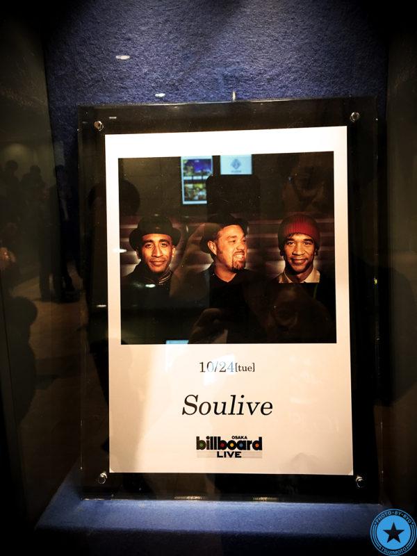 Soulive Oct.24.2017 ビルボード大阪 - ソウライヴを観てきました!【画像01】