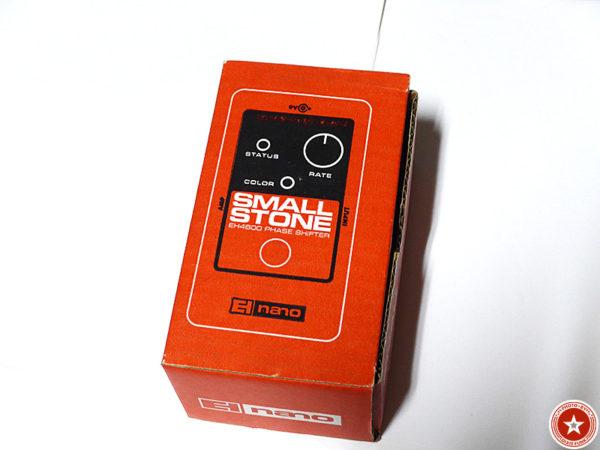 【フェイザーの名機】エレクトロ・ハーモニックスの『Small Stone nano』をご紹介したブログ記事の写真2枚目