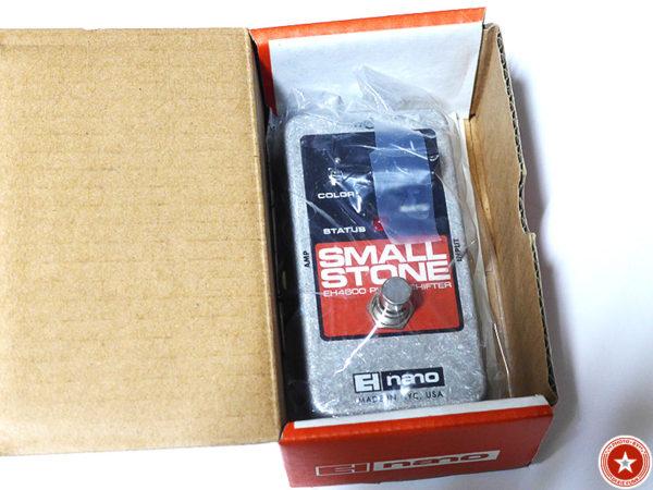 【フェイザーの名機】エレクトロ・ハーモニックスの『Small Stone nano』をご紹介したブログ記事の写真3枚目