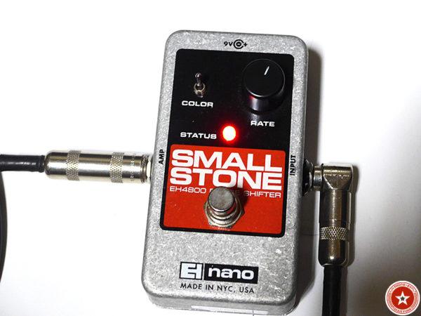 【フェイザーの名機】エレクトロ・ハーモニックスの『Small Stone nano』をご紹介したブログ記事の写真8枚目