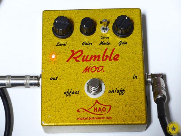 僕のお気に入りのエフェクターをご紹介しているブログ記事シリーズです。『HAO Rumble MOD.』をご紹介したブログ記事の写真11枚目