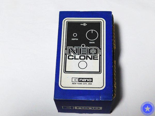 エレクトロ・ハーモニックス社のコンパクトで使いやすいコーラス・エフェクター『Neo Clone』をご紹介したブログ記事の写真2枚目