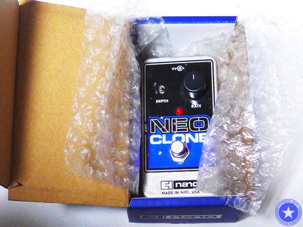 エレクトロ・ハーモニックス社のコンパクトで使いやすいコーラス・エフェクター『Neo Clone』をご紹介したブログ記事の写真3枚目