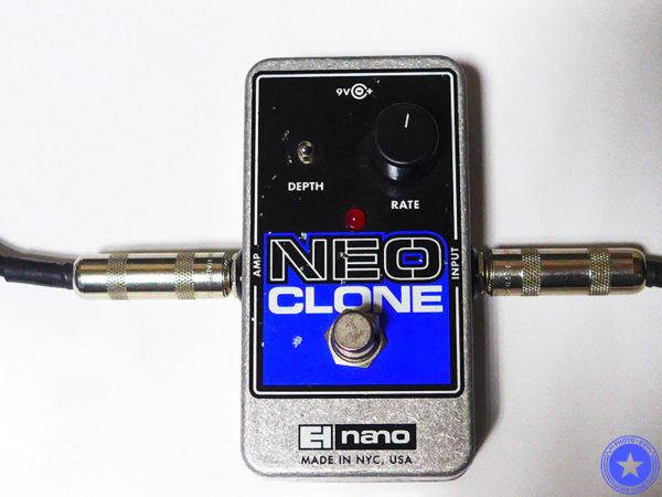 エレクトロ・ハーモニックス社のコンパクトで使いやすいコーラス・エフェクター『Neo Clone』をご紹介したブログ記事の写真7枚目