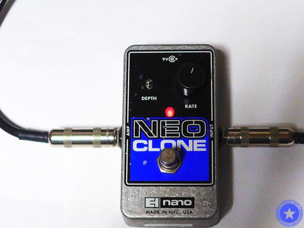 エレクトロ・ハーモニックス社のコンパクトで使いやすいコーラス・エフェクター『Neo Clone』をご紹介したブログ記事の写真8枚目