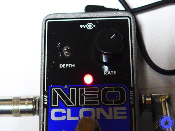 エレクトロ・ハーモニックス社のコンパクトで使いやすいコーラス・エフェクター『Neo Clone』をご紹介したブログ記事の写真11枚目