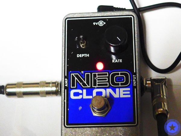 エレクトロ・ハーモニックス社のコンパクトで使いやすいコーラス・エフェクター『Neo Clone』をご紹介したブログ記事の写真12枚目
