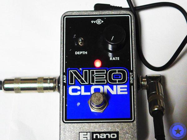 エレクトロ・ハーモニックス社のコンパクトで使いやすいコーラス・エフェクター『Neo Clone』をご紹介したブログ記事の写真13枚目