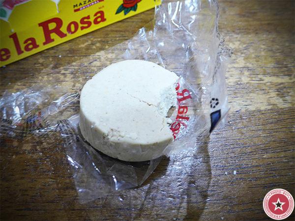 メキシコ のお土産で頂いたデ・ラ・ロサ(De La Rosa)社が販売している伝統菓子『マザパン』を食べた感想を書いたブログ記事の画像4枚目