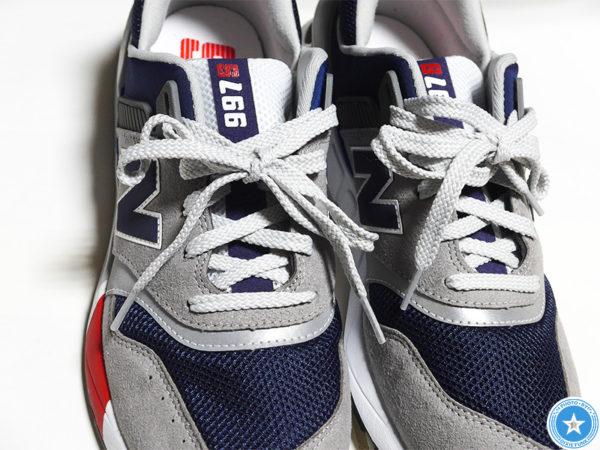 ユナイテッドアローズ&ニューバランスがコラボした『997シリーズ』の靴の画像1枚目