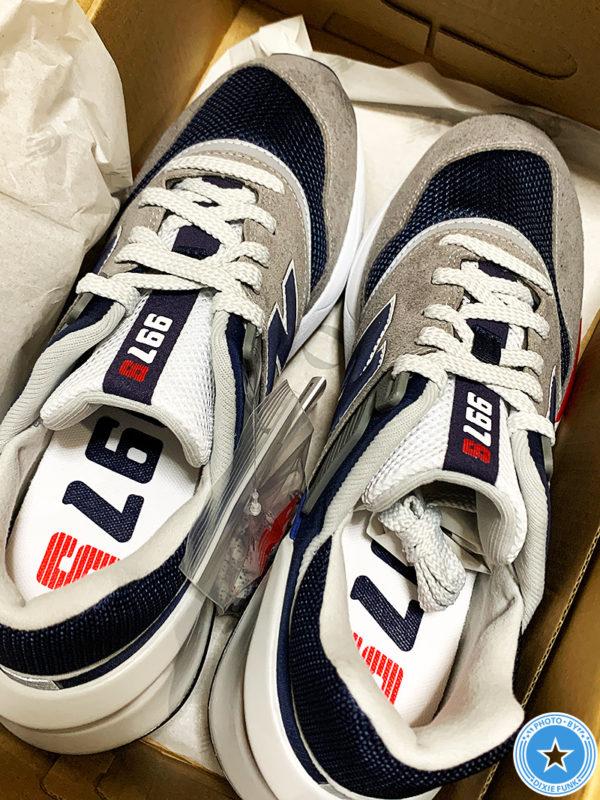 ユナイテッドアローズ&ニューバランスがコラボした『997シリーズ』の靴の画像4枚目
