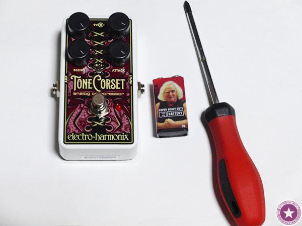 エレクトロ・ハーモニックス社のアナログ・コンプレッサー/サステイナー『Tone Corset』をご紹介したブログ記事の画像5枚目