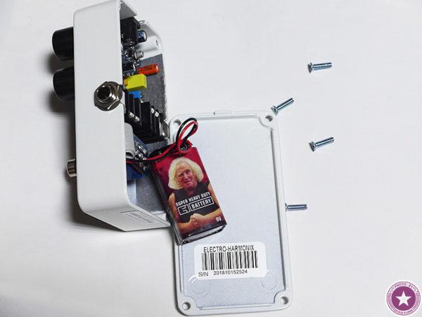 エレクトロ・ハーモニックス社のアナログ・コンプレッサー/サステイナー『Tone Corset』をご紹介したブログ記事の画像7枚目