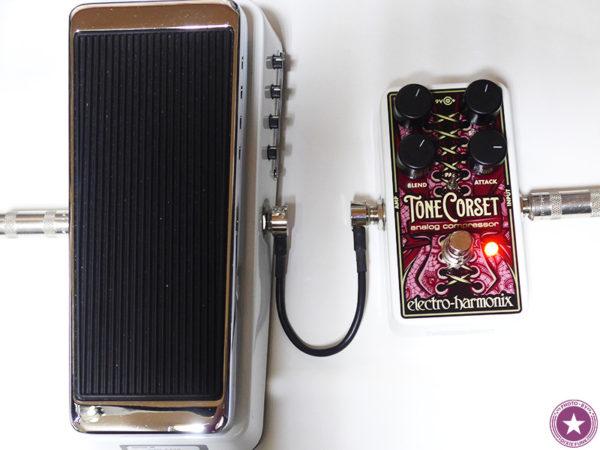 エレクトロ・ハーモニックス社のアナログ・コンプレッサー/サステイナー『Tone Corset』をご紹介したブログ記事の画像9枚目