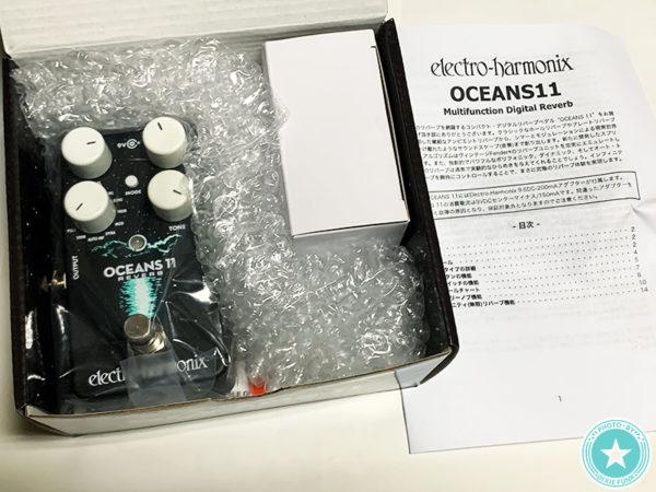 今流行りのネオソウルギターのサウンドつくりにもぴったり⁉新しくなったエレクトロ・ハーモニックス社のリバーブ『Oceans 11』をご紹介したブログ記事の画像4枚目