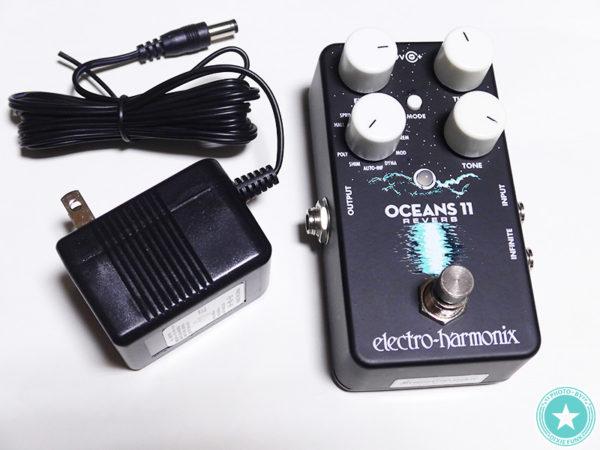 今流行りのネオソウルギターのサウンドつくりにもぴったり⁉新しくなったエレクトロ・ハーモニックス社のリバーブ『Oceans 11』をご紹介したブログ記事の画像6枚目