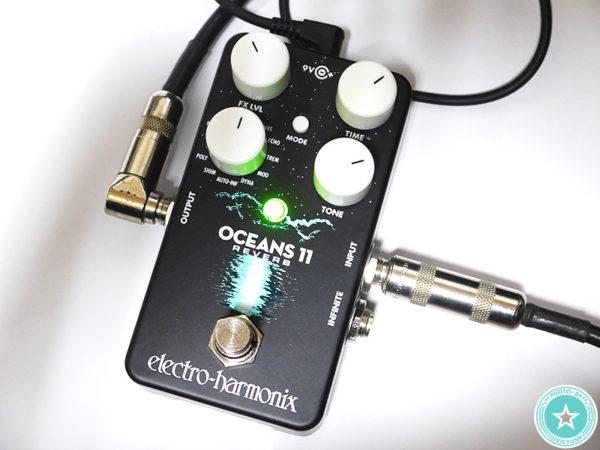 今流行りのネオソウルギターのサウンドつくりにもぴったり⁉新しくなったエレクトロ・ハーモニックス社のリバーブ『Oceans 11』をご紹介したブログ記事の画像8枚目