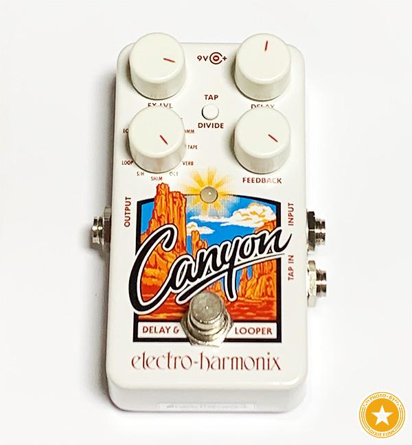 ルーパーとしても使える便利なギターエフェクター!新しくなったエレクトロ・ハーモニックス社のディレイペダル『Cyanon』をご紹介したブログ記事の画像1枚目
