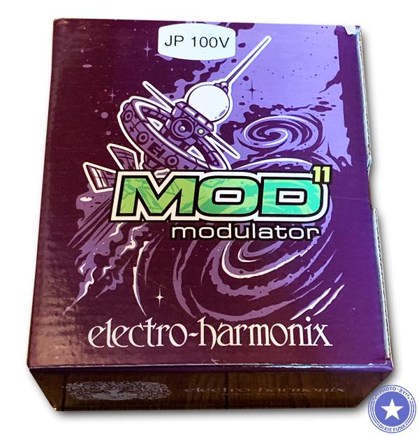 トレモロにコーラスにフランジャーやフェイザーとしても使える便利なギターエフェクター!エレクトロ・ハーモニックス社のデジタルモジュレーター『MOD 11』をご紹介したブログ記事の画像2枚目