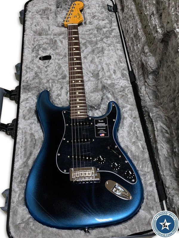 6年振りに購入した新しいギター『AMERICAN PROFESSIONAL II』をご紹介したブログ記事の写真4枚目
