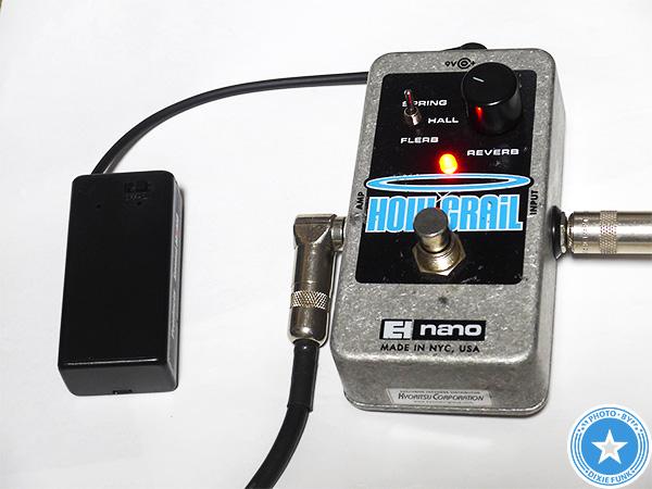 Sound MOMOバッテリースナップ【 DC9V乾電池用ボックス ON・OFFスイッチ・L型DCプラグ付 】をご紹介したブログ記事の写真9枚目