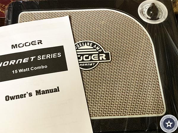 """可愛らしいアンティークなデザインが""""映える""""便利な機能付き小型デジタルギターアンプMOORE HORNET SERIESをご紹介したブログ記事の写真4+枚目"""