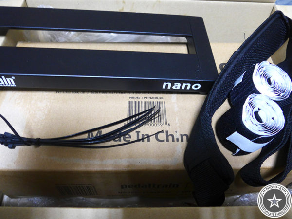 初心者でもサクッと簡単に組めるおすすめの小型エフェクターボード『Pedaltrain nano』をご紹介したブログ記事の写真5枚目
