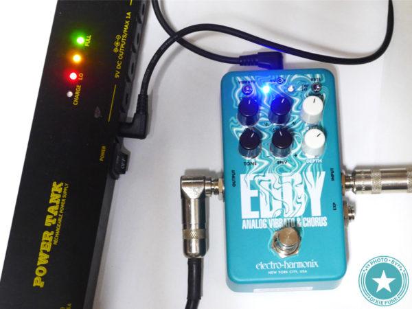 【2021年度最新エフェクター!】トム・ミッシュのあの揺れサウンドも再現できる!?Electro-Harmonixのビブラート/コーラス・ペダル『EDDY』をご紹介したブログ記事の写真9枚目