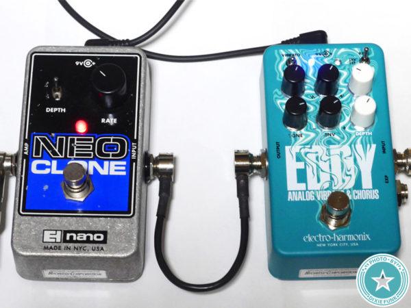 【2021年度最新エフェクター!】トム・ミッシュのあの揺れサウンドも再現できる!?Electro-Harmonixのビブラート/コーラス・ペダル『EDDY』をご紹介したブログ記事の写真11枚目