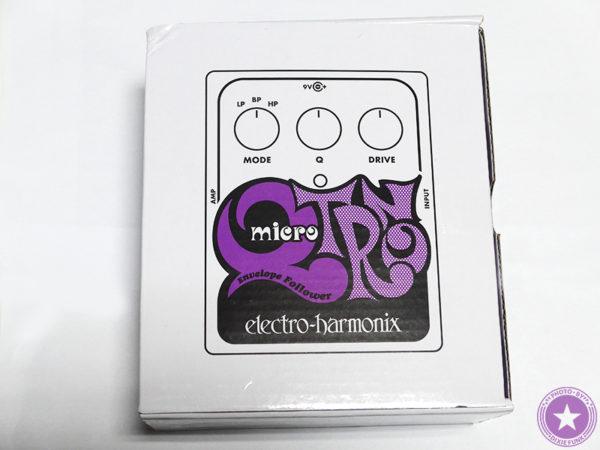 エレクトロ・ハーモニックス社が誇るエンベロープフィルターの名器『Micro Q-Tron』をご紹介したブログ記事の製品画像2枚目