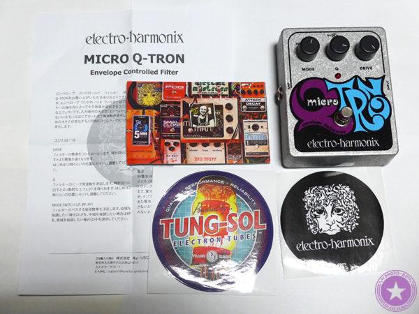 エレクトロ・ハーモニックス社が誇るエンベロープフィルターの名器『Micro Q-Tron』をご紹介したブログ記事の製品画像5枚目