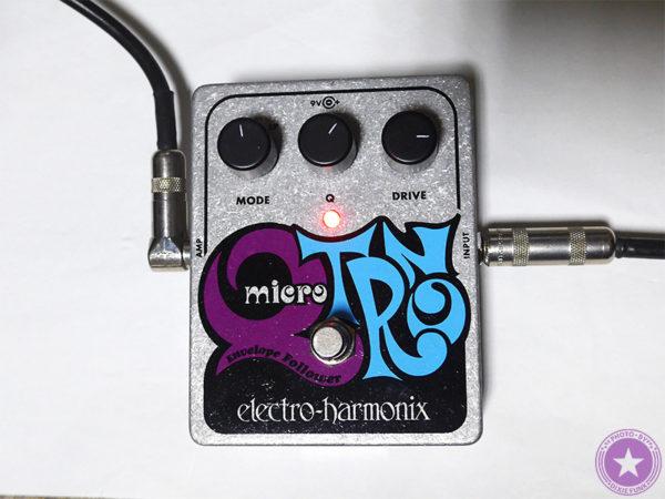 エレクトロ・ハーモニックス社が誇るエンベロープフィルターの名器『Micro Q-Tron』をご紹介したブログ記事の製品画像10枚目