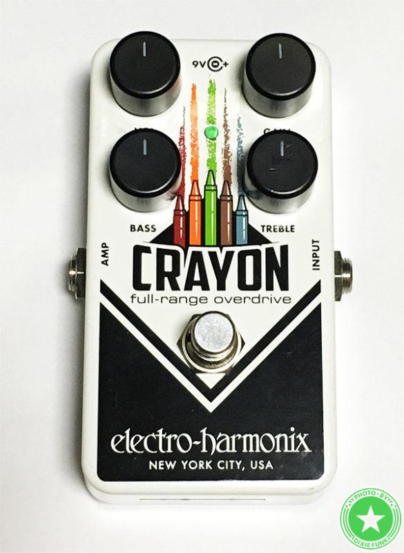 エレクトロ・ハーモニクスの『CRAYON』をご紹介したブログ記事の写真1枚目