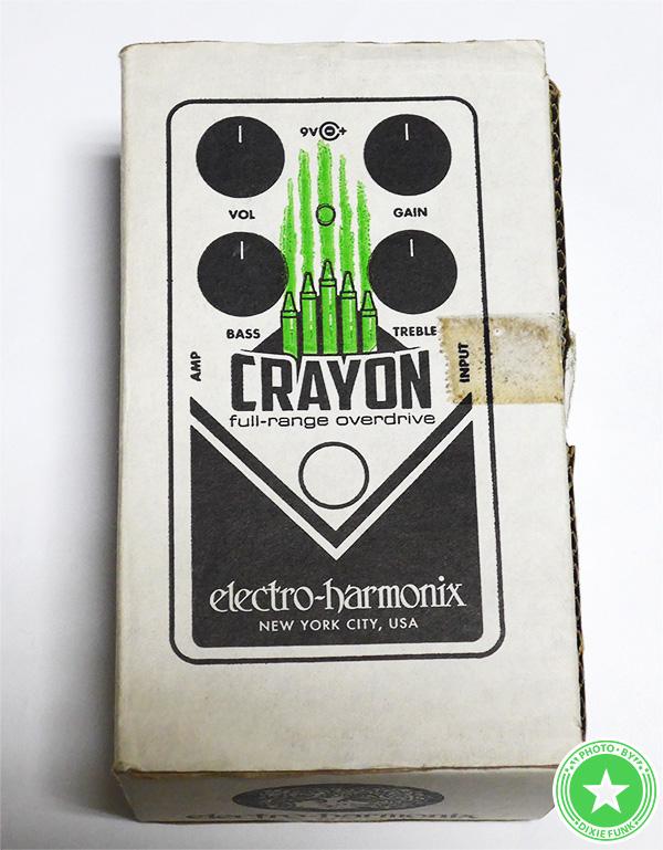 エレクトロ・ハーモニクスの『CRAYON』をご紹介したブログ記事の写真2枚目