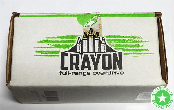 エレクトロ・ハーモニクスの『CRAYON』をご紹介したブログ記事の写真3枚目
