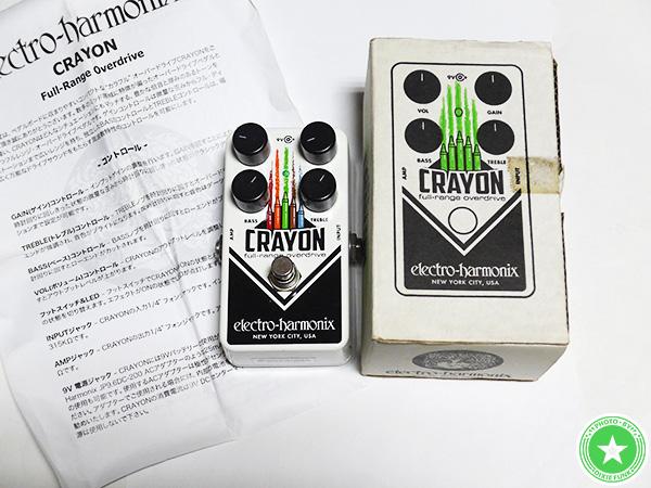 エレクトロ・ハーモニクスの『CRAYON』をご紹介したブログ記事の写真4枚目