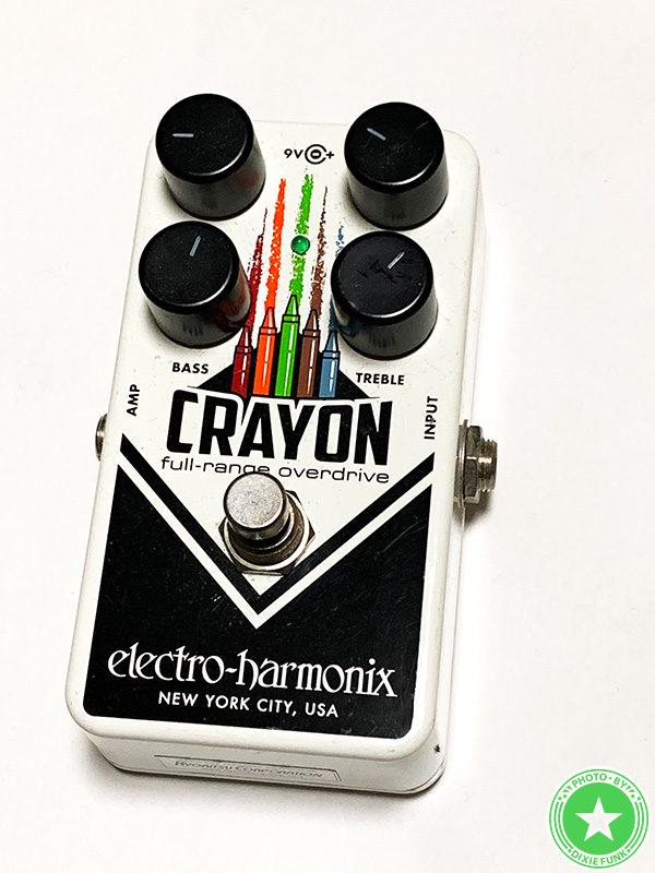 エレクトロ・ハーモニクスの『CRAYON』をご紹介したブログ記事の写真5枚目