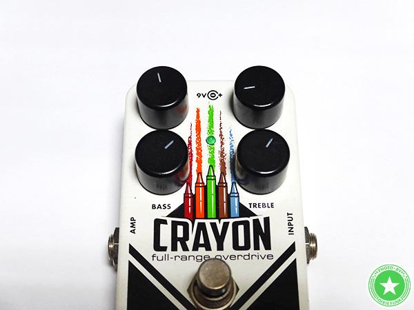 エレクトロ・ハーモニクスの『CRAYON』をご紹介したブログ記事の写真6枚目